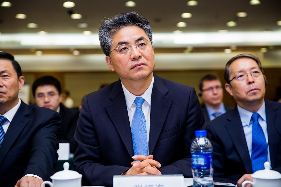中国外文局局长张福海出席2017中国扶贫国际论坛