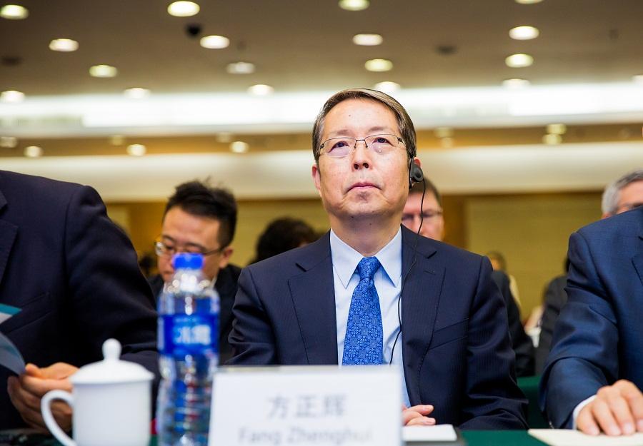 中国外文局副局长方正辉出席2017中国扶贫国际论坛