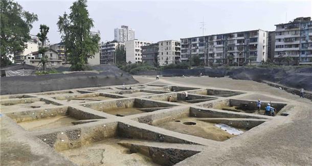 成都市中心发现堙藏千年的著名古寺