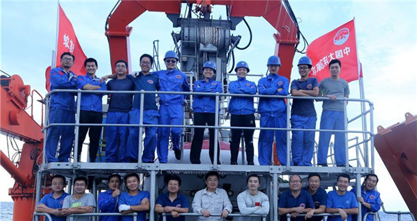 """""""蛟龙""""号完成中国大洋38航次最后一潜"""