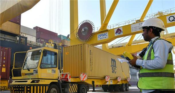 断交风波中的卡塔尔港口运输