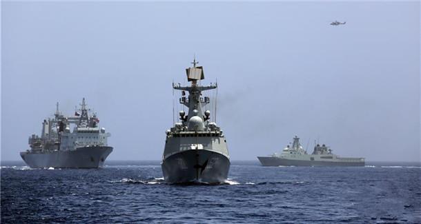 中国海军远航访问编队结束对阿曼访问 两国海军举行海上联合演习