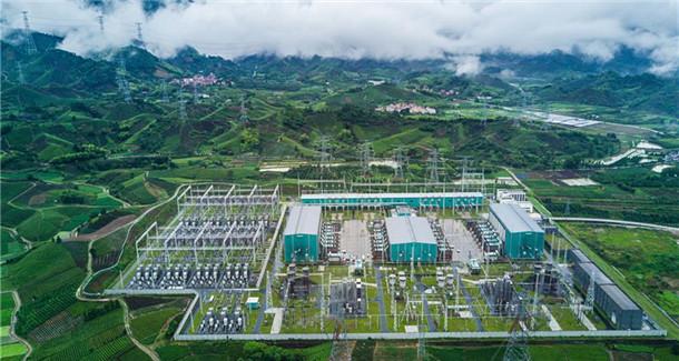 宾金直流工程累计输送清洁水电破千亿千瓦时