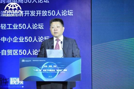 王仲伟:中国企业已成世界舞台上令人瞩目的新兴力量