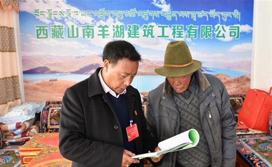 西藏:牧民企業家邊久論珠扶貧記