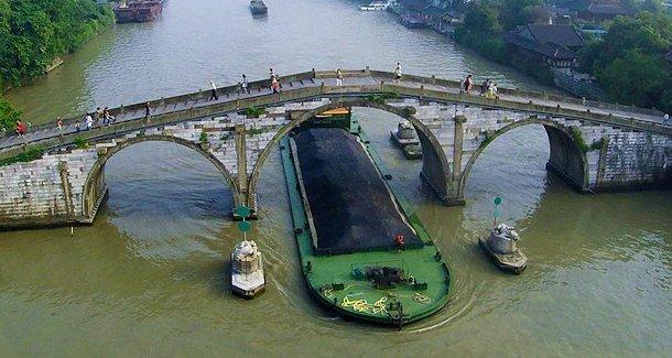 航拍京杭大运河——景观篇[组图]