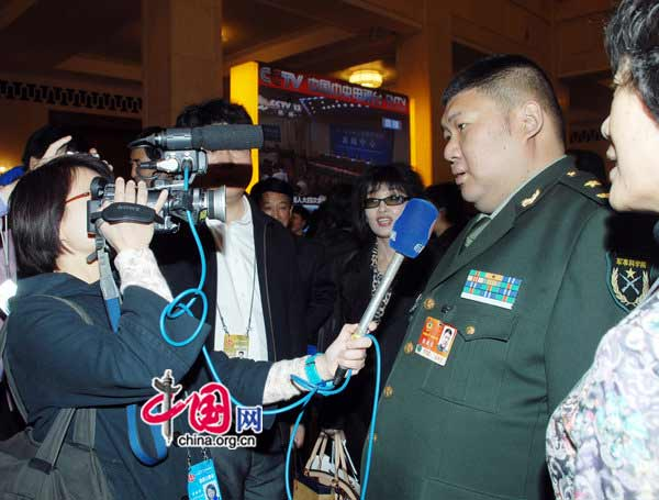 Mao Xinyu, grandson of late Chairman Mao Zedong, attends annual two sessions. Mao Xinyu is a member of the National Committee of the Chinese People's Political Consultative Conference (CPPCC), the country's top political advisory body, and a major general in the PLA Academy of Military Sciences.