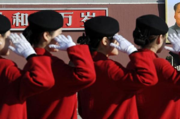 Female working staff at Sessions.[Chinanews.com]