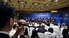 Delegates attend the forum 'Rediscover the Growth Potential of Japan' during the Boao Forum for Asia (BFA) Annual Conference 2011 in Boao, south China's Hainan Province, April 16, 2011.