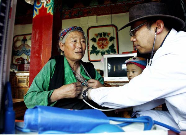 Four developed regions in China will provide one-to-one help to Tibetan autonomous prefectures and counties outside Tibet, according to an action plan released this weekend.