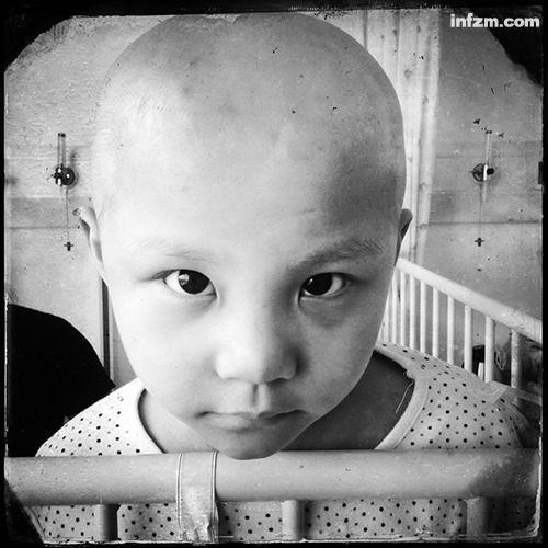 Children under the claw of malignant tumors
