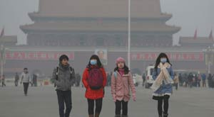 The severe air pollution in Beijing, especially in autumn and winter, has been a headache for outdoor exercisers and sporting event operators in recent years.