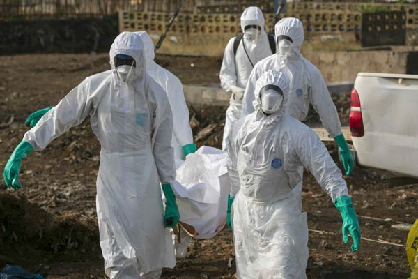 Ebola outbreak not yet under control