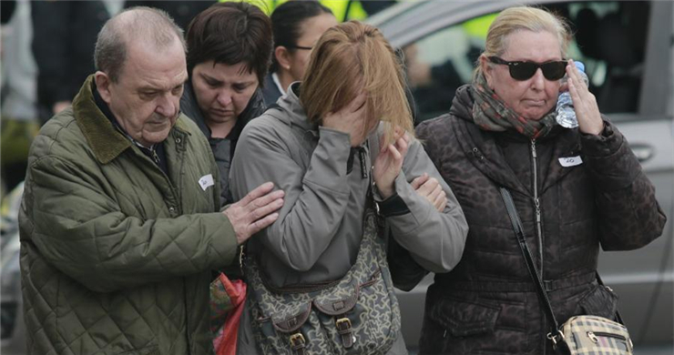 Families mourn victims of Airbus A320 crash