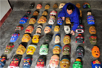 The King of Nuo masks