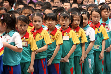 The changing history of school uniforms in China