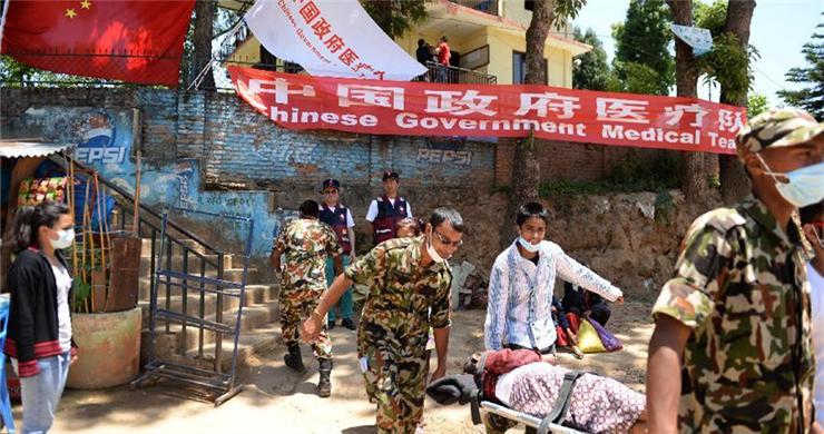 Chinese medical team aids quake-hit Nepal