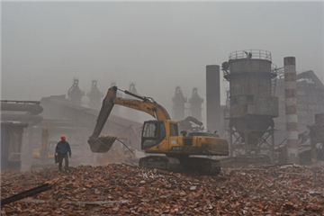 Top 10 most polluted cities in China