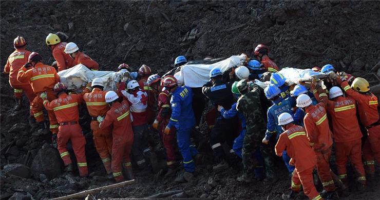 21 dead after landslide hits E China