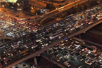 Top 10 Chinese cities with the worst traffic