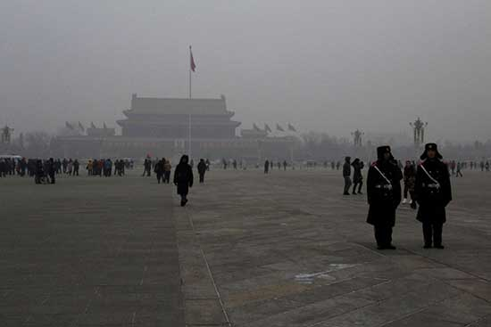 Beijing Aims to Reduce PM 2.5 Density by Five Percent