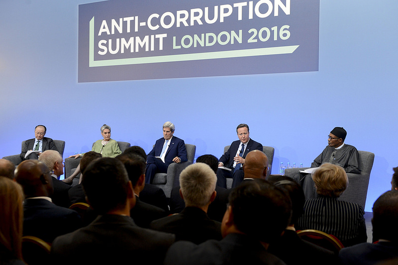The Anti-Corruption Summit 2016 is the first of its kind to bring together world leaders, the banking and financial sectors, and non-government organizations to jointly discuss and implement combined plans to tackle corruption.[Photo/China.org.cn]