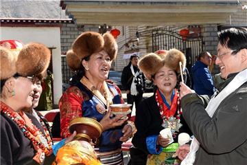 Tibetan New Year markd in China's Tibet