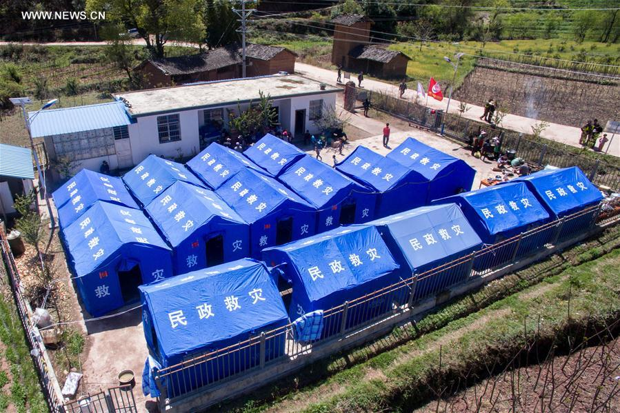 CHINA-YUNNAN-YANGBI-QUAKE-RELIEF (CN)