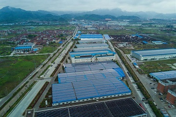 Photovoltaic power station in E. China
