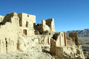 Ruins of Guge Kingdom in Tibet