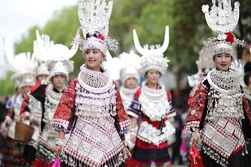 Miao Sisters Festival celebrated in Guizhou