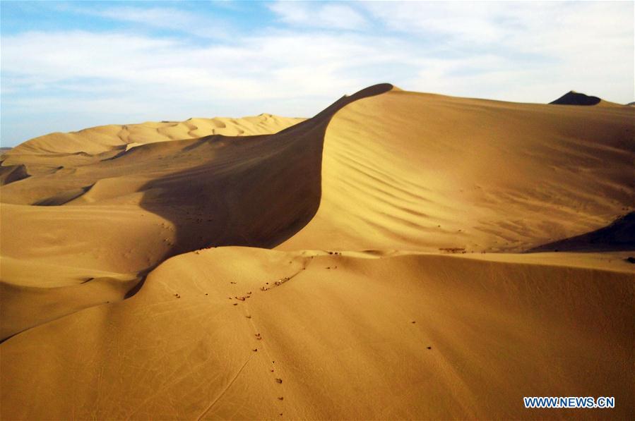 CHINA-GANSU-DUNHUANG-SCENERY (CN)