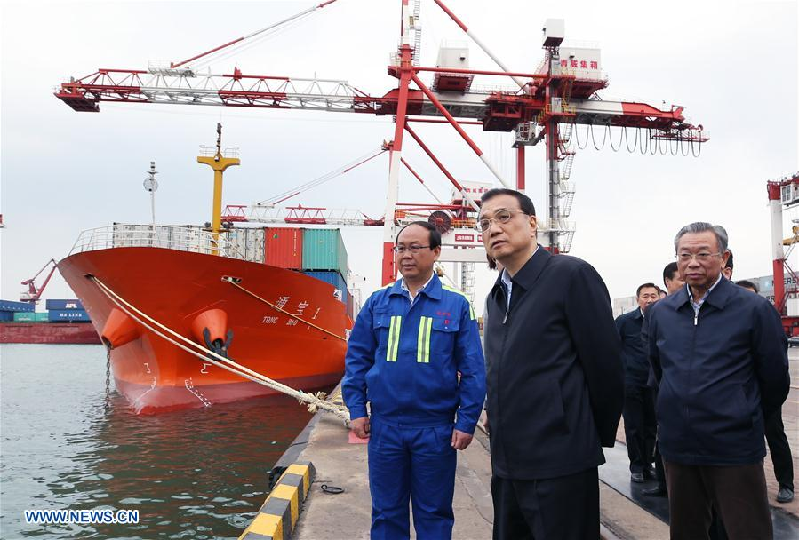 CHINA-SHANDONG-LI KEQIANG-INSPECTION (CN)