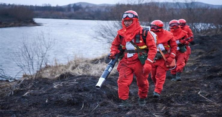 Thousands battling Inner Mongolia fire, blaze under control