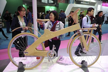 Bicycle-themed expo kicks off in Shanghai