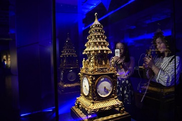 140 sets of relics displayed in Palace Museum