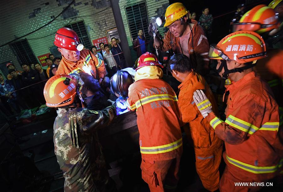 Deadly coalmine accident in Hunan