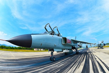 PLA South China Sea Fleet conduct training