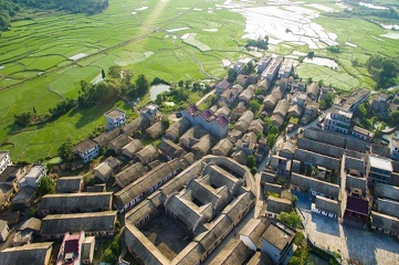 300-year-old turtle shell-shaped 'fortress'
