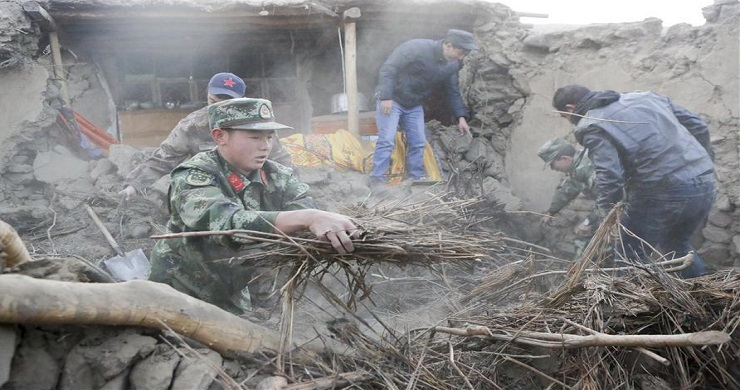 Rescue underway after deadly Xinjiang quake