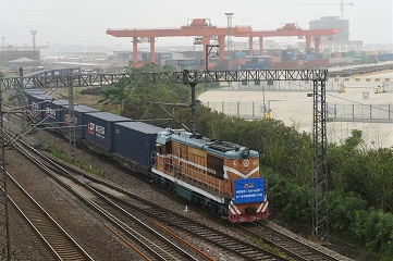 1,000th freight train linking China and Europe departs from Yiwu