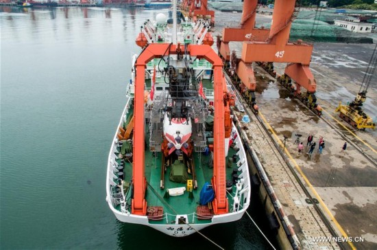 China begins deep-sea research in northwestern Pacific Ocean
