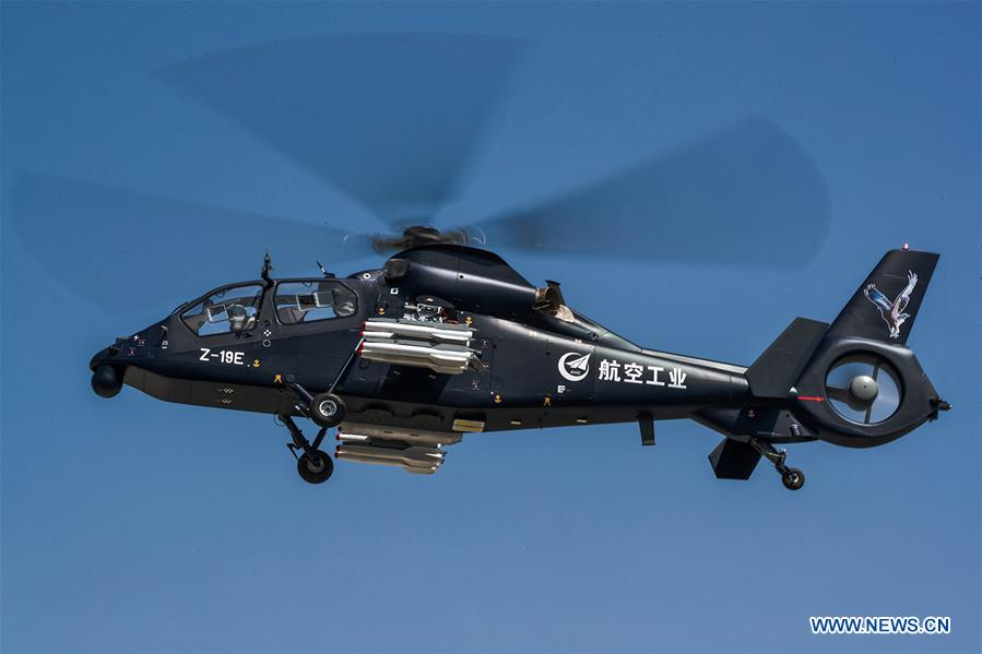 Z-19E armed helicopter makes maiden flight
