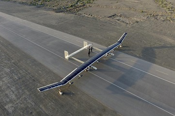 China successfully tests near-space flight of largest solar drone