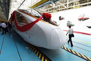 Two new bullet trains to debut on Beijing-Shanghai high speed railway line