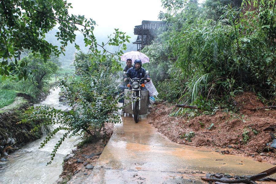 CHINA-HUNAN-FLOOD-EMERGENCY RESPONSE (CN)