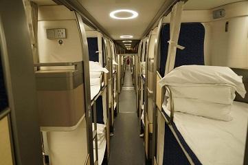Take closer look at new Beijing-Shanghai overnight sleeper trains