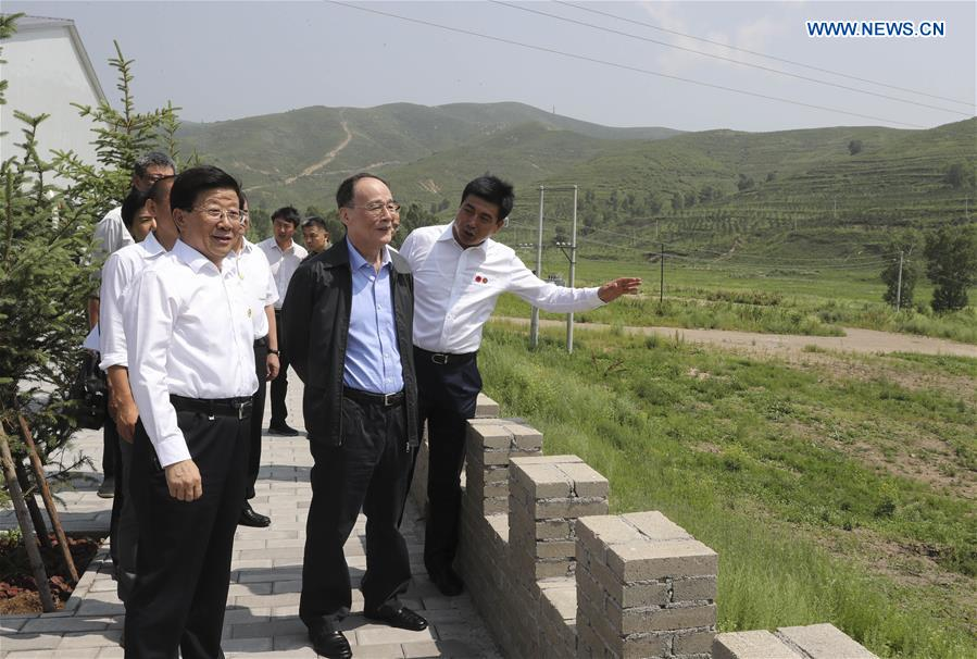 CHINA-HEBEI-WANG QISHAN-INSPECTION (CN)