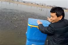 【镜头中的脱贫故事】自创击打声喂鱼 现代化养殖增产8-10倍