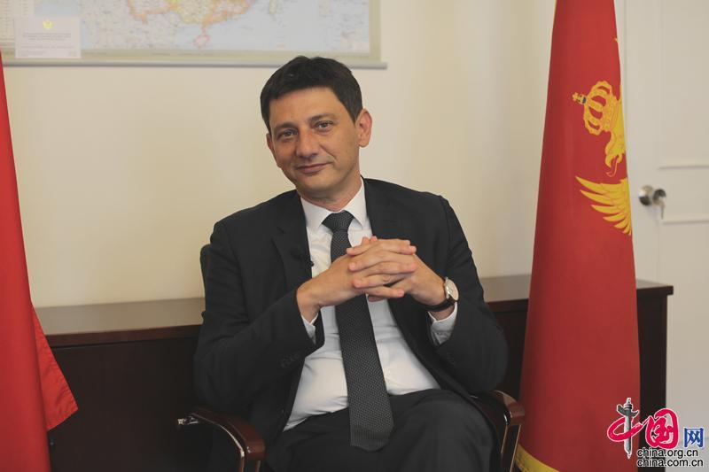 黑山共和国驻华大使:黑中两国文化交流前景广阔